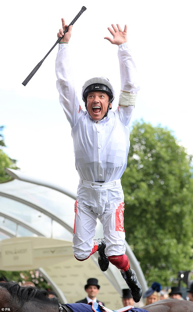 Frankie Dettori admits he is uncertain if he will perform trademark leap at Royal Ascot
