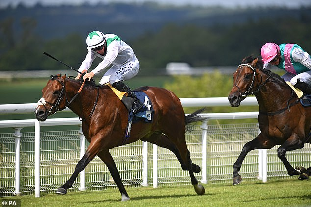 Trainer Hugo Palmer hopes Emissary will fulfil the dreams he had for the colt at Epsom