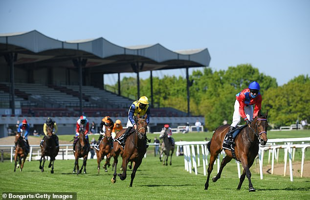 The return of racing: Jockeys wearing masks, deserted stands and 'you can't talk to anyone'