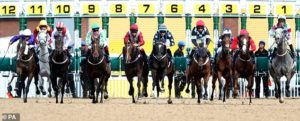 Hold your horses! Racing's expected return next week sees massive demand for slots