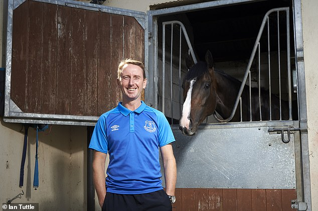 Jockey Martin Dwyer is a huge Everton fan who's desperate to win Saturday's Derby