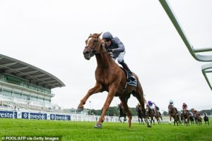 Aiden O'Brien's Serpentine causes huge upset to win the Epsom Derby