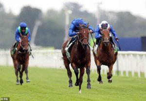 Ghaiyyath completes Group One hat-trick with stunning victory in the Juddmonte International