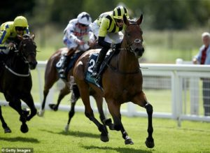 Fivethousandtoone backed to make big step up in the Dubai Duty Free Mill Reef Stakes at Newbury