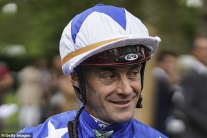 Olivier Peslier steps in to ride Stadivarius in the Prix de l'Arc de Triomphe