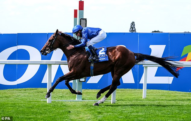 Ghaiyyath retired to stud by Godolphin owners after appearing to suffer from muscle issues