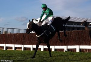 Fusil Raffles delightsNicky Henderson with impressive victory at Cheltenham