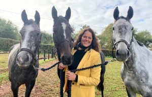 Sheila Lewis reveals how she balances being a successful jumps trainer with running a beauty salon