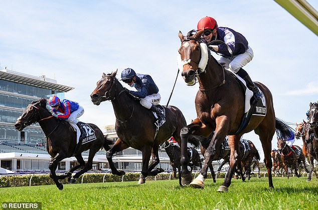Joseph O'Brien pips dad again as Twilight Payment claims a second triumph in the Melbourne Cup