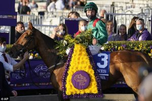 Weld admits Tarnawa's success in the Breeders' Cup Turf was tinged with sadness