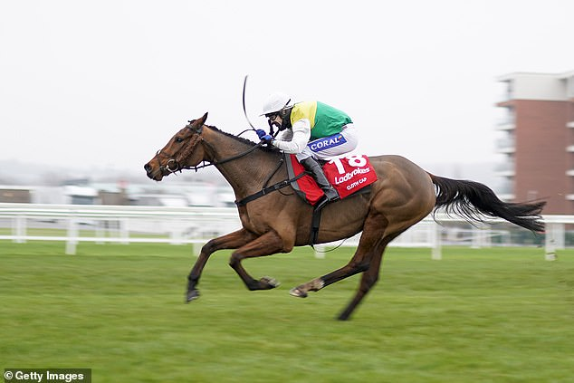 Tom Scudamore left with black eye after being hit by stray golf ball at Newbury