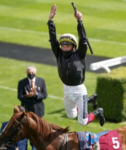 Frankie Dettori hated 'horrible' 2020 but his enthusiasm for racing is as strong as ever