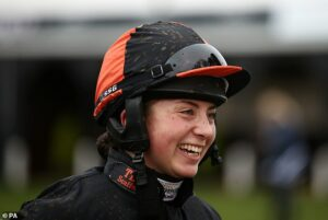 Bryony Frost becomes first female jockey to win the King George VI Chase