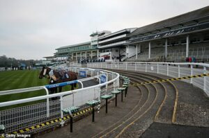 Police launch probe after drone crashes nearChepstow racecourse during Welsh Grand National meeting